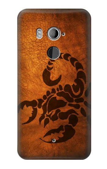 Printed Scorpion Tattoo HTC U11+ Case