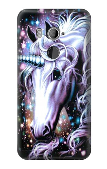 Printed Unicorn Horse HTC U11+ Case