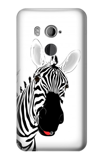 Printed Hello Zebra HTC U11+ Case