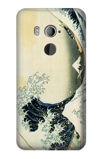 Printed Katsushika Hokusai The Great Wave of Kanagawa HTC U11+ Case