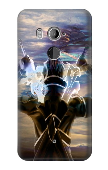 Printed Sword Art Online Kirito HTC U11+ Case