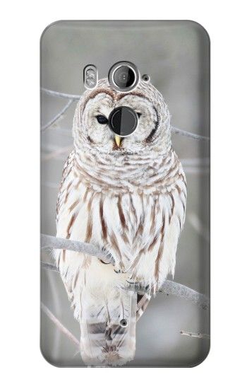 Printed Snowy Owl White Owl HTC U11+ Case