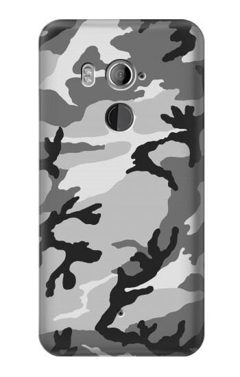 Printed Snow Camo Camouflage Graphic Printed HTC U11+ Case