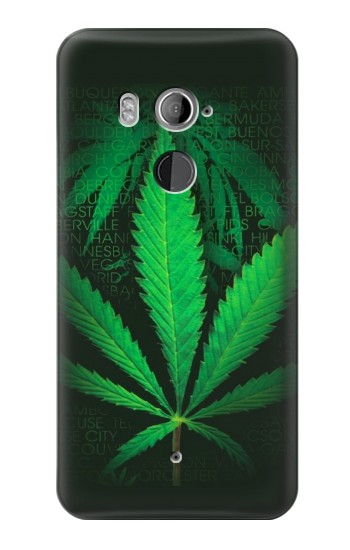 Printed Marijuana Plant HTC U11+ Case