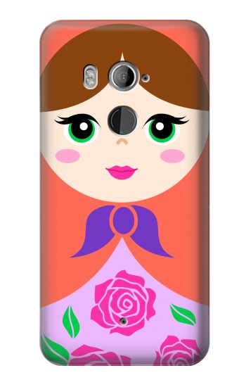 Printed Russian Matryoshka Doll HTC U11+ Case