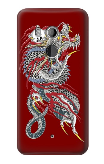 Printed Yakuza Dragon Tattoo HTC U11+ Case