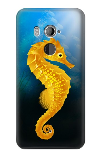 Printed Seahorse Underwater World HTC U11+ Case