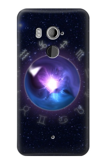 Printed Zodiac Crystal Ball HTC U11+ Case
