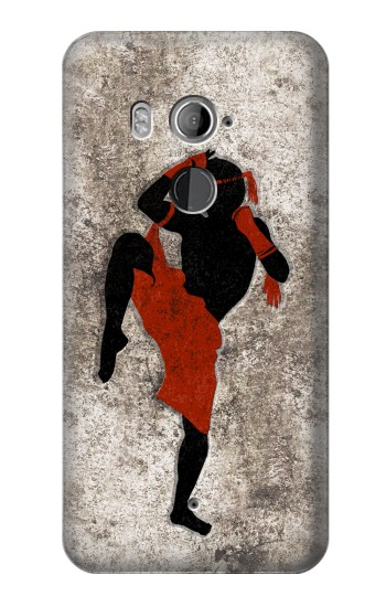 Printed Muay Thai Fight Boxing HTC U11+ Case