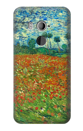 Printed Field Of Poppies Vincent Van Gogh HTC U11+ Case