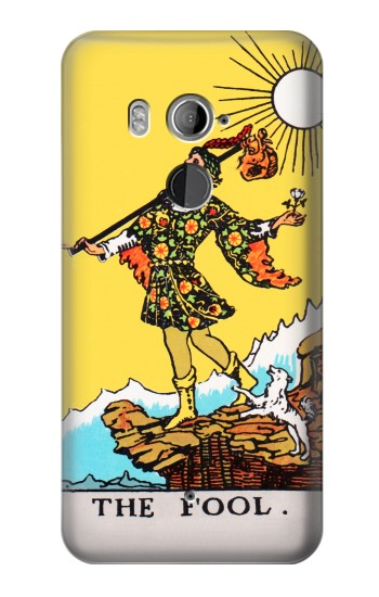 Printed Tarot Card The Fool HTC U11+ Case