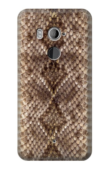 Printed Rattle Snake Skin HTC U11+ Case