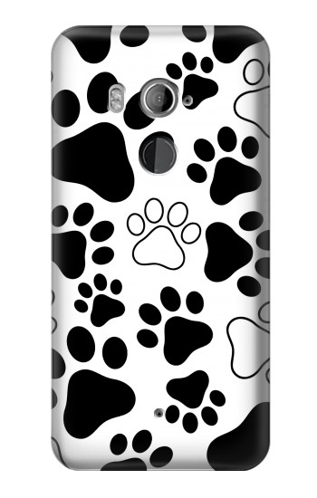 Printed Dog Paw Prints HTC U11+ Case