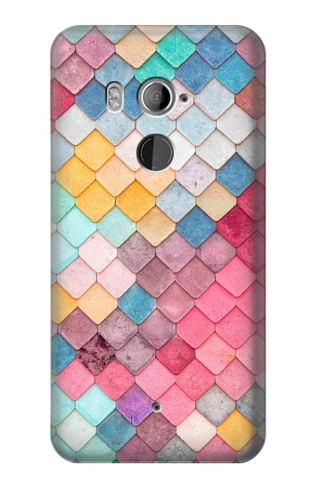 Printed Candy Minimal Pastel Colors HTC U11+ Case