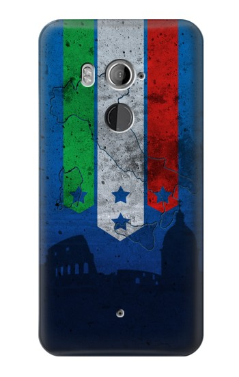 Printed Italy Football Flag HTC U11+ Case