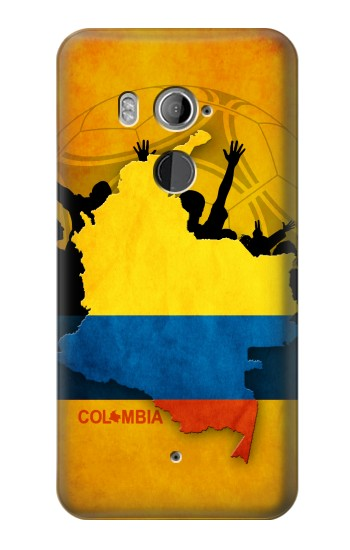 Printed Colombia Football Flag HTC U11+ Case