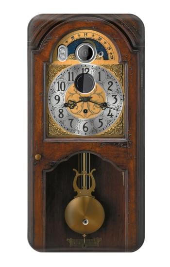 Printed Grandfather Clock Antique Wall Clock HTC U11+ Case