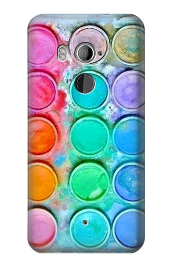 Printed Watercolor Mixing HTC U11+ Case