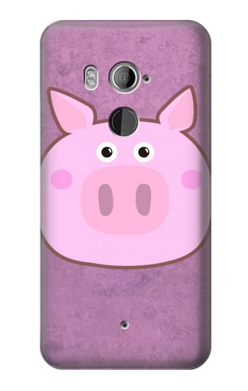 Printed Pig Cartoon HTC U11+ Case