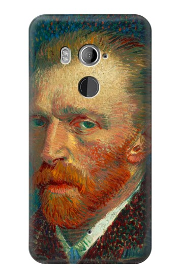 Printed Vincent Van Gogh Self Portrait HTC U11+ Case