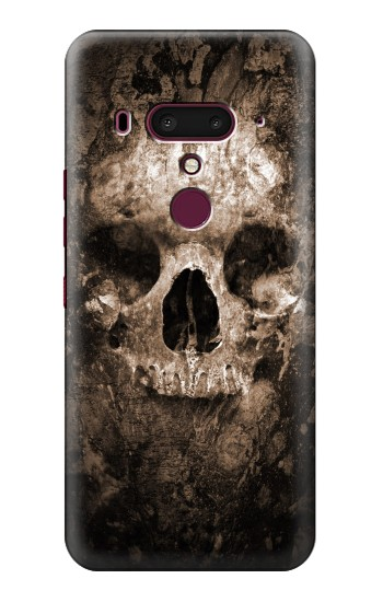 Printed Skull HTC U12+ Case