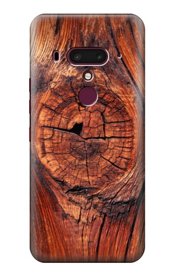 Printed Wood HTC U12+ Case