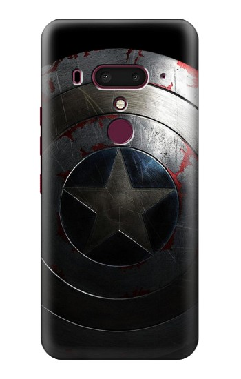 Printed Captain Shield HTC U12+ Case