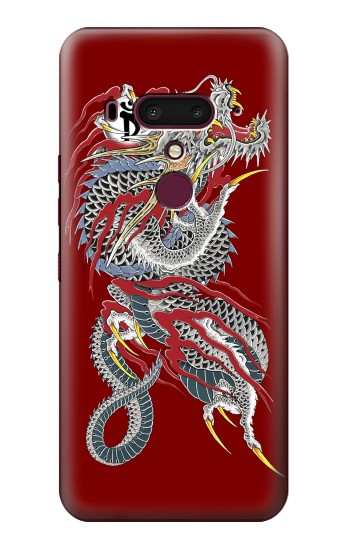 Printed Yakuza Dragon Tattoo HTC U12+ Case