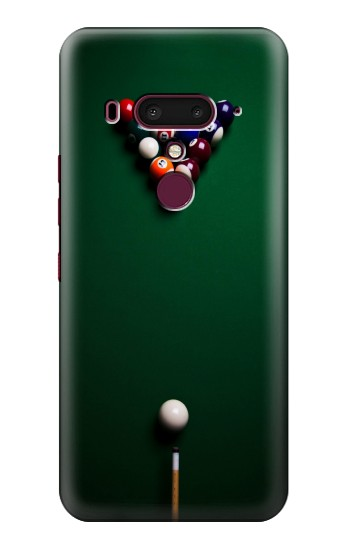 Printed Billiard Pool HTC U12+ Case