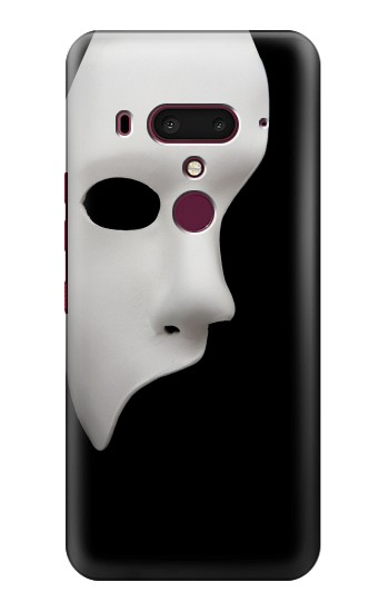 Printed Phantom of The Opera Mask HTC U12+ Case