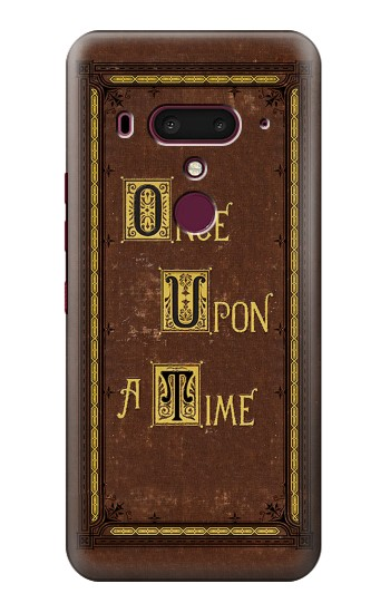 Printed Once Upon a Time Book Cover HTC U12+ Case