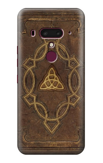 Printed Spell Book Cover HTC U12+ Case