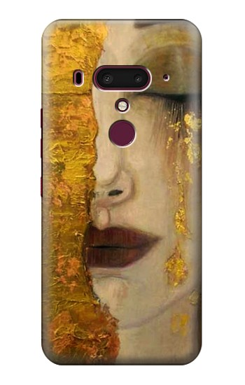 Printed Gustav Klimt Golden Tears HTC U12+ Case