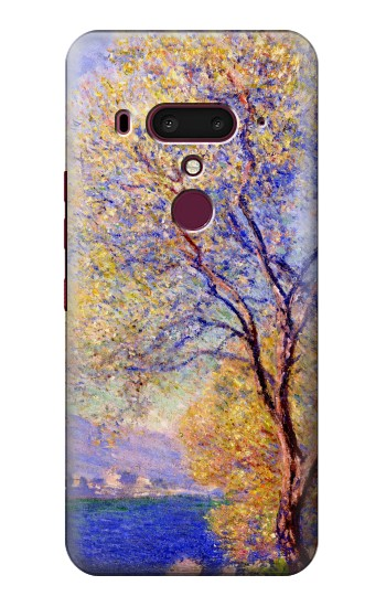 Printed Claude Monet Antibes Seen from the Salis Gardens HTC U12+ Case