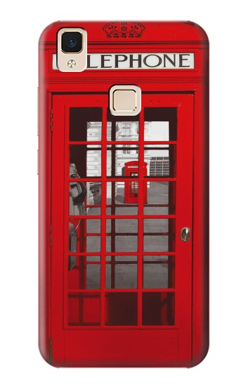 Printed Classic British Red Telephone Box Apple iPad Air Case