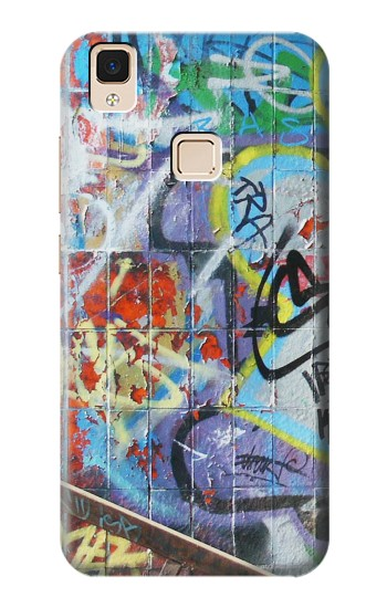 Printed Wall Graffiti Apple iPad Air Case