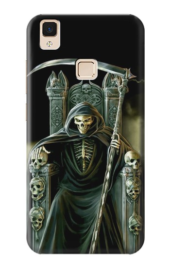 Printed Grim Reaper Skeleton King Apple iPad Air Case