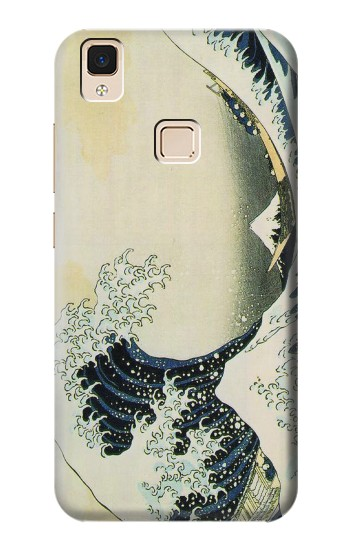 Printed Katsushika Hokusai The Great Wave of Kanagawa Apple iPad Air Case