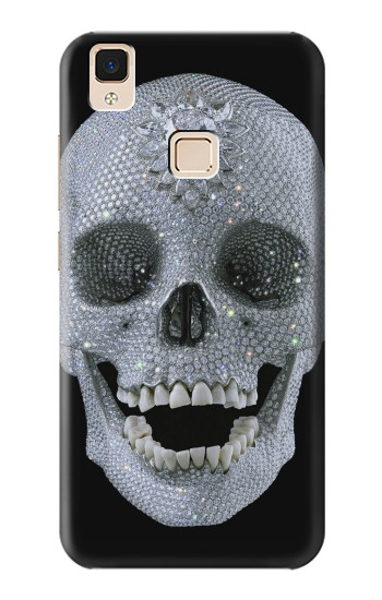 Printed Diamond Skull Apple iPad Air Case