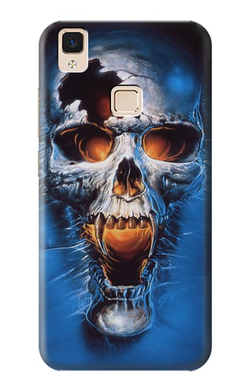 Printed Vampire Skull Apple iPad Air Case
