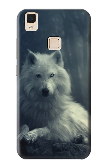 Printed White Wolf Apple iPad Air Case