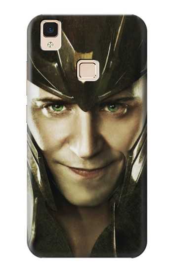 Printed Loki Face Asgard Apple iPad Air Case