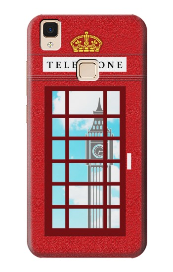 Printed England Classic British Telephone Box Minimalist Apple iPad Air Case