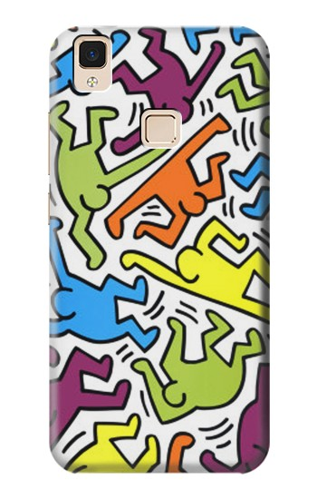 Printed Keith Haring Apple iPad Air Case