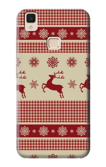 Printed Christmas Snow Reindeers Apple iPad Air Case