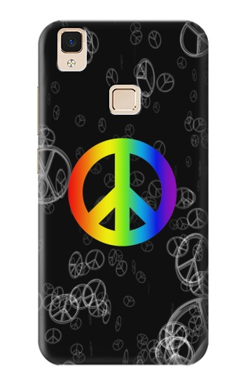 Printed Peace Sign Apple iPad Air Case