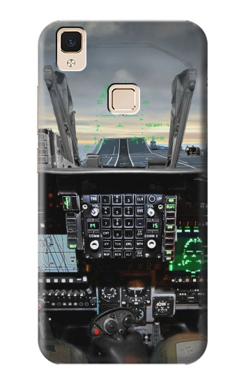 Printed Fighter Jet Aircraft Cockpit Apple iPad Air Case