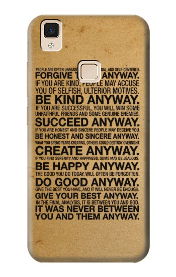 Printed Mother Teresa Anyway Quotes Apple iPad Air Case