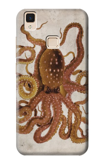 Printed Vintage Octopus Apple iPad Air Case