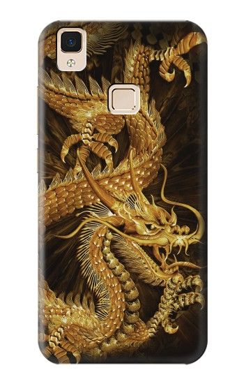 Printed Chinese Gold Dragon Printed Apple iPad Air Case